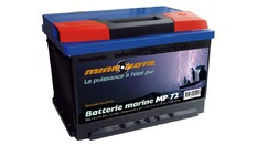 Batterie marine de démarrage 72 AH