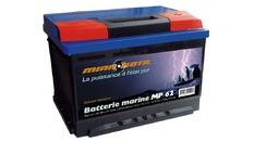 Batterie marine de démarrage 62 AH