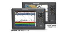 Combiné tactile ONIX8XDTA-2D-200 et 50 kHz- sonde tableau arrièr