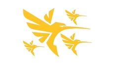 Planche comptant 4 transferts COLIBRI Humminbird