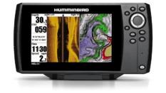 Combiné Sondeur GPS HELIX 7 SIDE IMAGING avec sonde TA (409850-1