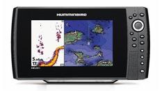 Combiné Sondeur GPS HELIX 9HD,  sonde tableau arrière