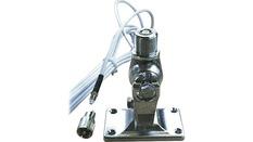Rotule laiton chromé pour série FASFIT 9119 avec 6 m de câble (9016)