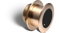 B164 20° : Sonde Flush Mount Bronze, 20°, 50/200 kHz, 1kW, M&M