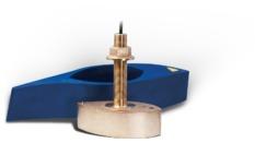 B275LH-W : Sonde CHIRP WIDE Trav Bronze, 42-65 & 150-250 kHz, 1 kW