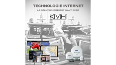 TECHNOLOGIE KVH INTERNET PAR SATELLITE
