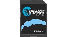 Cartographie détaillée du lac de LEMAN