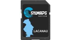 Cartographie détaillée du lac LACANAU