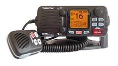 VHF fixe 55 canaux,ASN,classe D,25W-Boîtier noir- FIN DE PROD