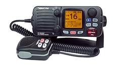 VHF fixe 55 canaux,ASN,classe D,25W, Bluetooth - Boitier noir