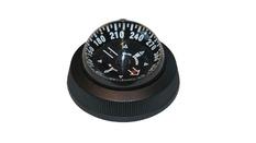 Compas 85E noir, encastrable, éclairage 12V
