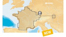 Carte Navionics + Small -  format SD - LACS / EUROPE DU CENTRE