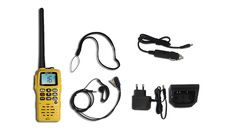 Pack comprenant VHF portable 6W RT411 + alimentation 12V + micro orei
