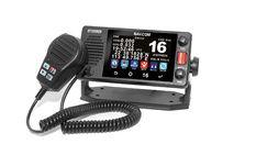 VHF fixe 25 watts avec écran tactile, NMEA 2000