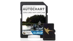 """Carte Europe """"Zéro line"""" pour Logiciel - format MicroSD"""