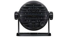 Haut parleurs externe avec bouton d'appel noir