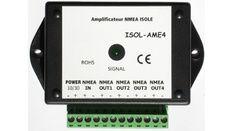 ISOL-HV : Amplificateur NMEA 1 entrée / 4 Sorties isolées 38400 bds