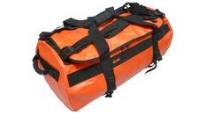 DRYDUFFLE 90 Orange / jaune  - Sac de voyage étanche 90 litres