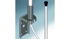 Antenne VHF ECO 3dB, 1.5m, 25m de câble, équerre métal (178)