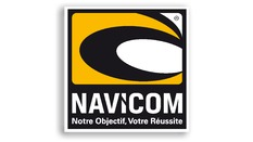 Autocollant NAVICOM carré 200X200