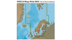 Wide & MEGA Wide Max Mer du Nord Baltique
