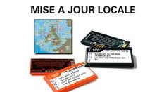 Mise à jour cartes locales (Max & NT+)