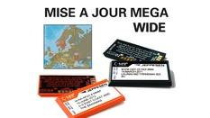Mise à jour carte Mega wide