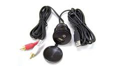 Prise encastrable USB/Jack pour autoradio