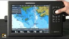 Barre de données - Navigation sur Onix et Ion Humminbird