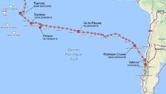 Transpacifique de L'Envol, un voilier de 7,70 mètres