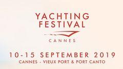 Cannes Yachting Festival 10 au 15 SEPTEMBRE 2019