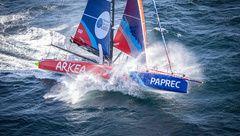 Transat Jacques Vabre : ARKEA PAPREC équipé Lars Thrane