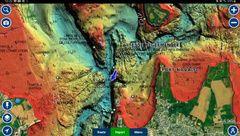 Nouvelle couche cartographique Relief Shading disponible dans les cartes Platinum+
