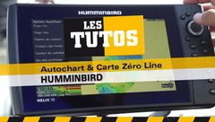 Les Tutos : Autochart & Carte Zéro Line Humminbird
