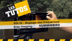 Les Tutos : Réglage des fréquences Side Imaging sur Solix