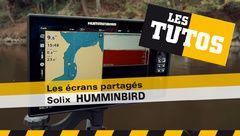 Les Tutos : Les écrans partagés sur SOLIX Huminbird