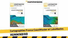 Cartographies France Humminbird : CoastMaster et LakeMaster