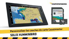 Personnaliser les couches de carte Coastmaster  sur SOLIX