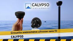 Girouette anémomètre ultrason sans fil CALYPSO