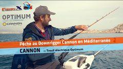 Pêche au Treuil Cannon en Méditerranée.