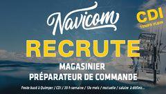 RECRUTEMENT : Magasinier CDI