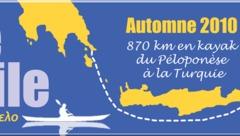 870 km en kayak du Péloponnèse en Turquie