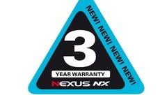 Une nouvelle garantie pour la gamme NEXUS NX