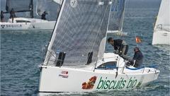 Trophée Atlantique IRC3 2012 : le voilier JPK 1010  BISCUIT BIO pour la 3e année consécutive.