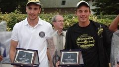 Fabrice Mouton et Mike Fourreau – Champion de France de chasse sous marine  -22 ans