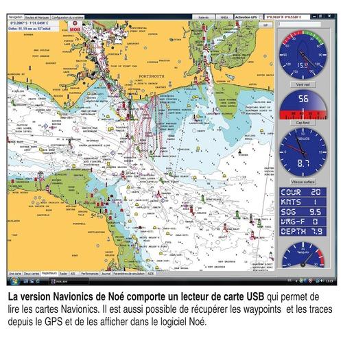 logiciel de navigation no c map navionics sans cartographie logiciels de navigation no. Black Bedroom Furniture Sets. Home Design Ideas